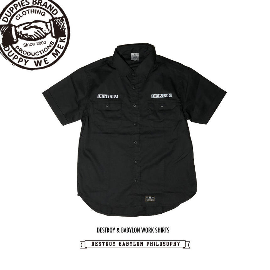 Destroy & Babylon / Work Shirts