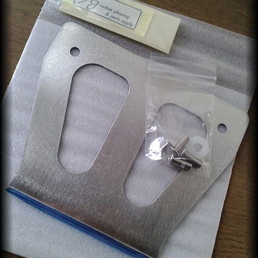 『E/J original sus304 ナンバープレートホルダー』Kit