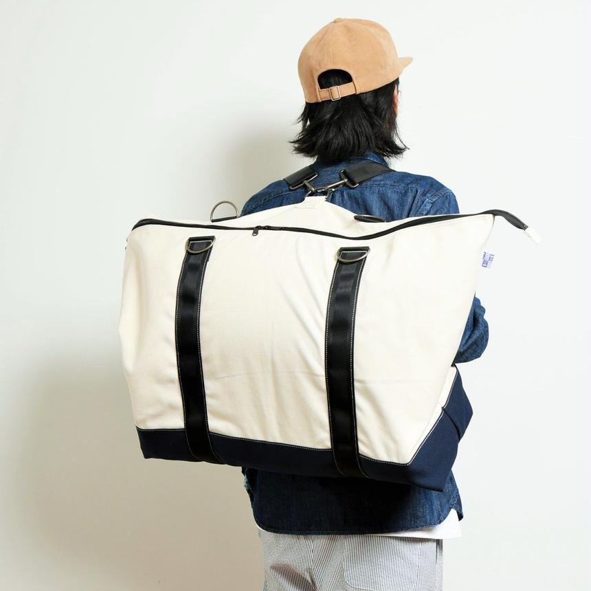 ASSISTANT  BAG  by  EVENFLOW  #WHITE/NAVY
