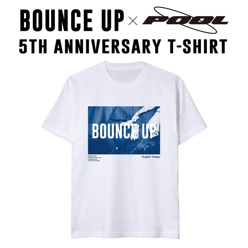 BOUNCE UP 5th Anniversary T-shirts