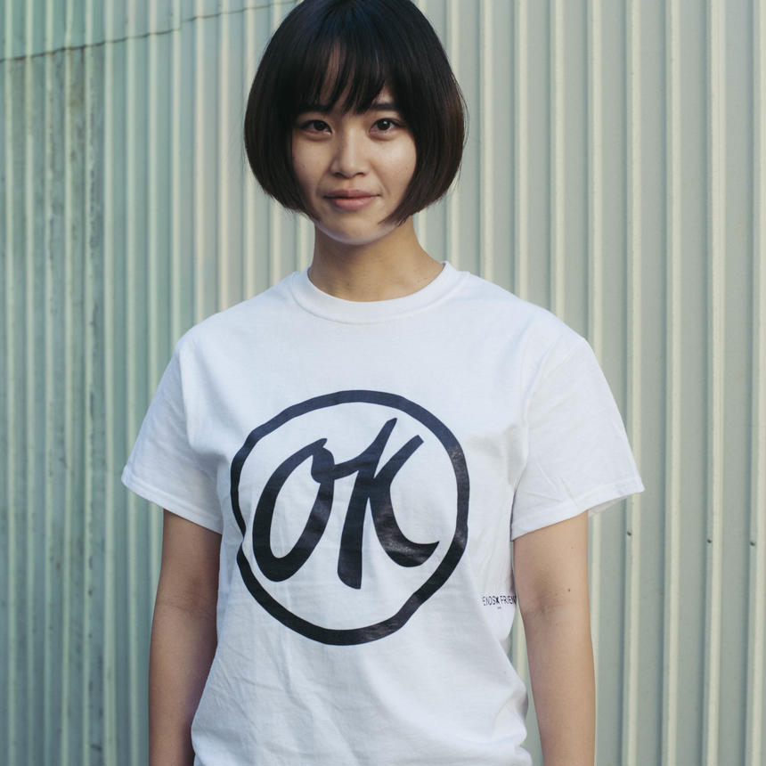 FSF×SEE SEE    T-SHIRT  WHT