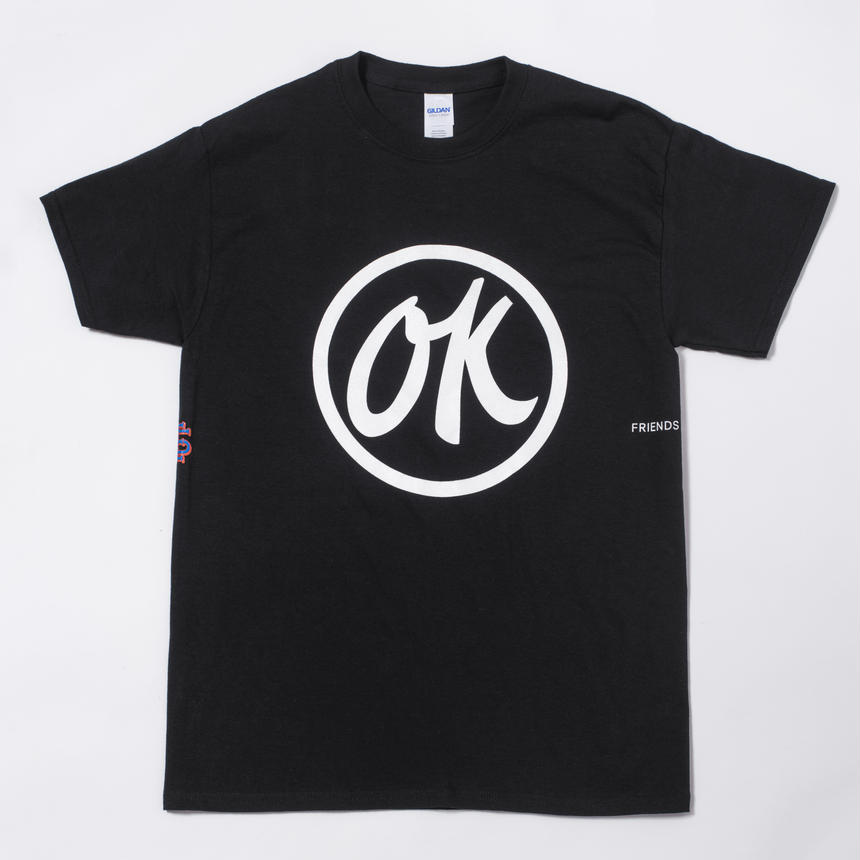 FSF×SEE SEE T-SHIRT BLK