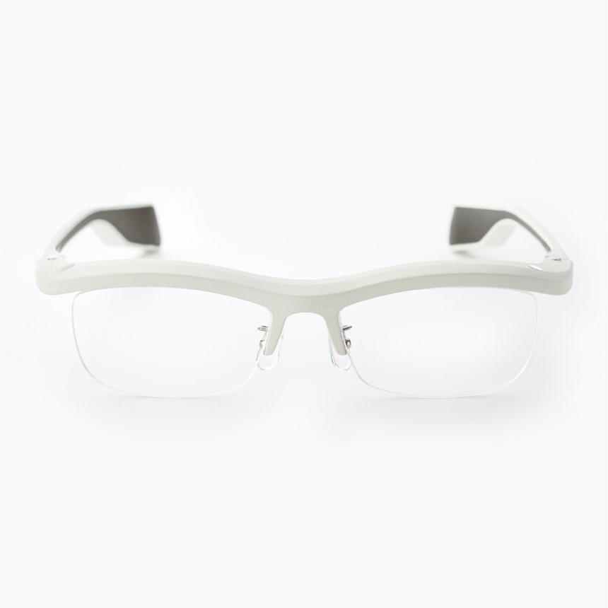 雰囲メガネ WHITE/GRAY