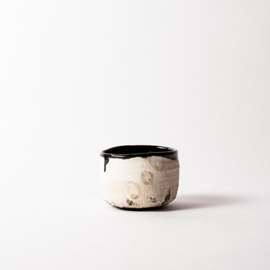 013 内田鋼一 猿楽手 引出黒茶碗