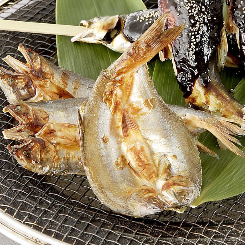 長良川天然鮎の一夜干し 5枚(予約)