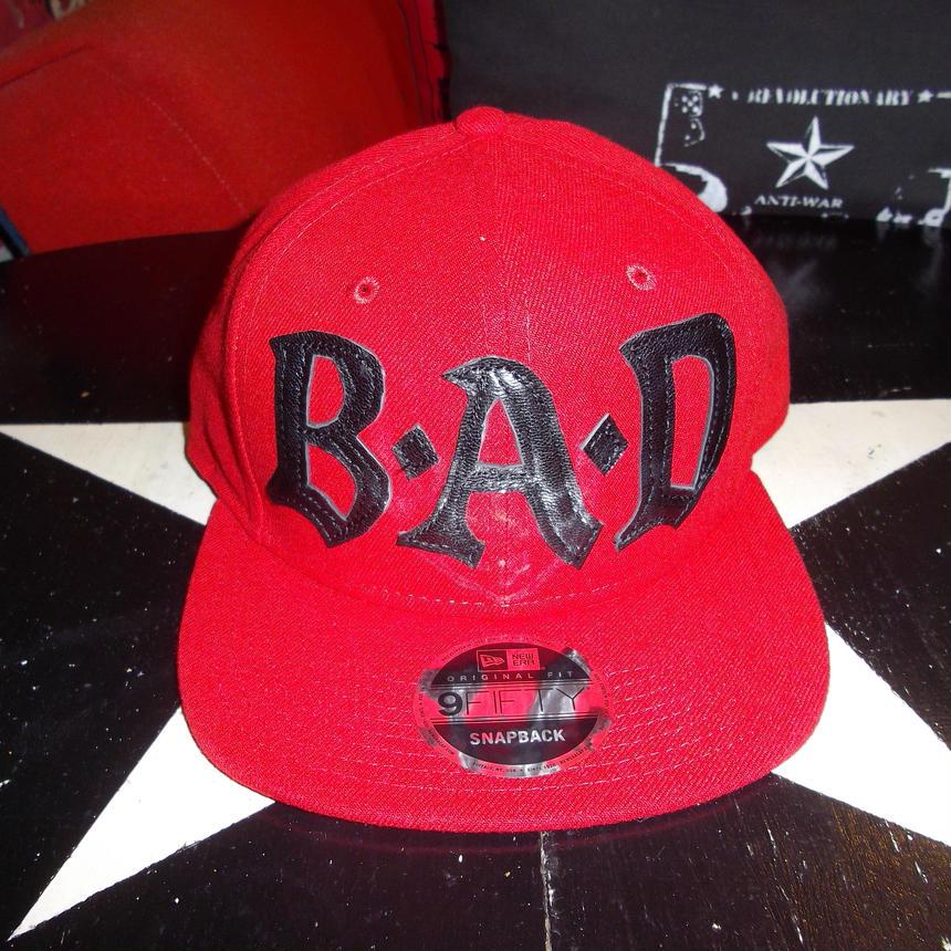 BIG AUDIO DYNAMITE /B・A・D cap new era 9fifty red×black