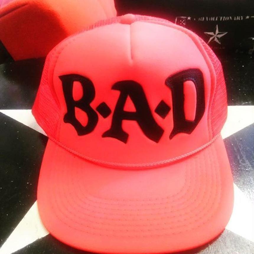 BIG AUDIO DYNAMITE /B・A・D cap/RED×BLACK
