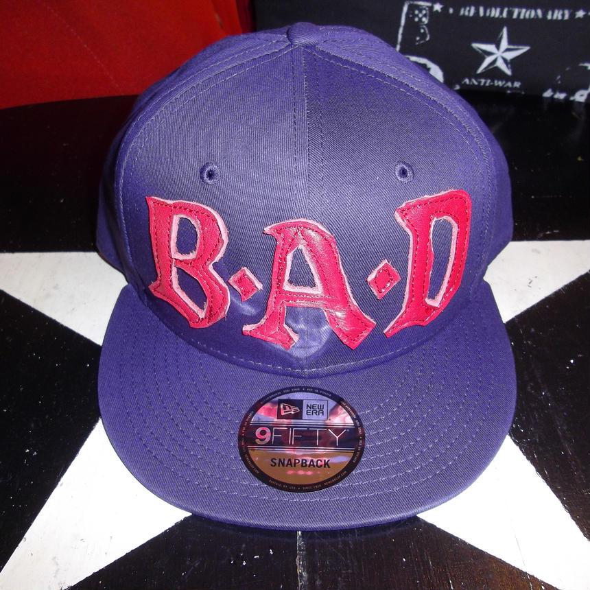 BIG AUDIO DYNAMITE /B・A・D cap new era 9fifty purple×red