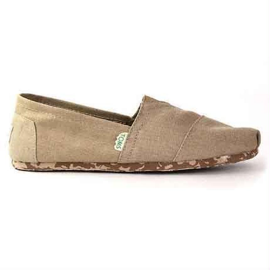 【国内独占販売カラー!第1弾】TOMS MEN'S EARTHWISE CLASSICS  SAND RECYCLABLE