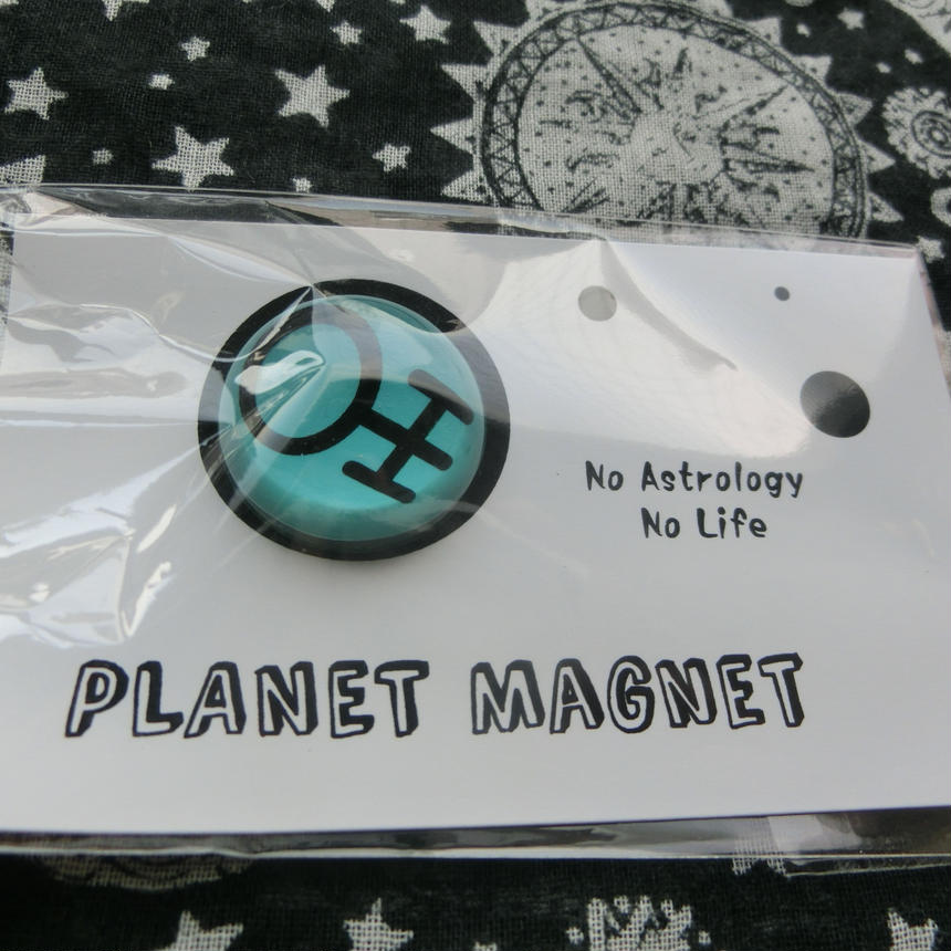 惑星マグネット 08天王星 24mm
