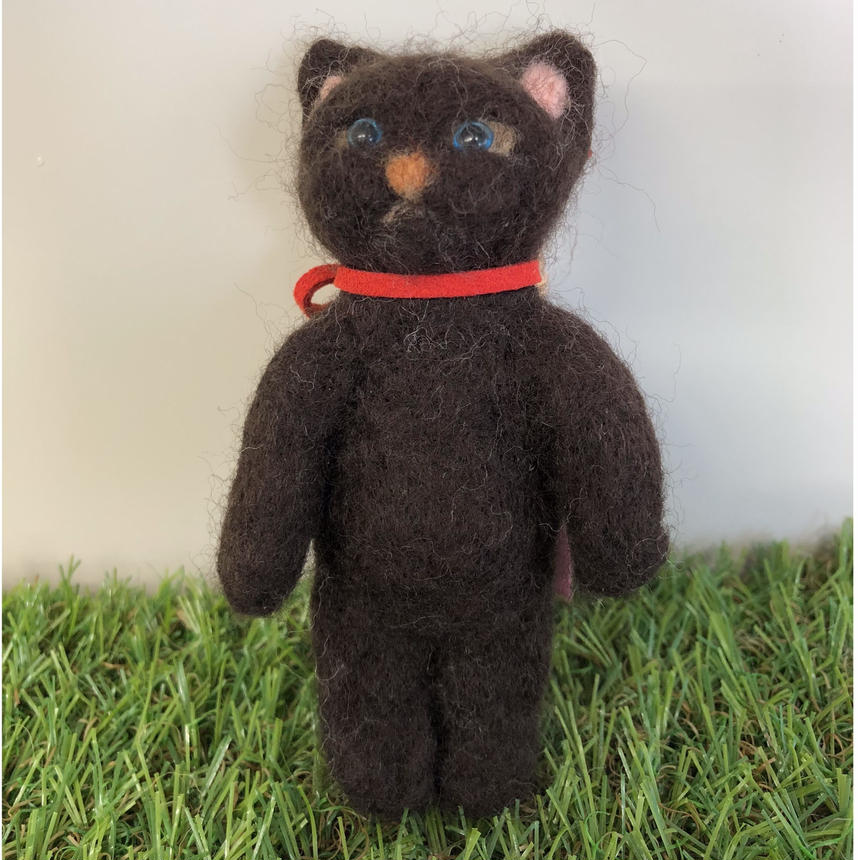 黒猫 キーホルダー☆