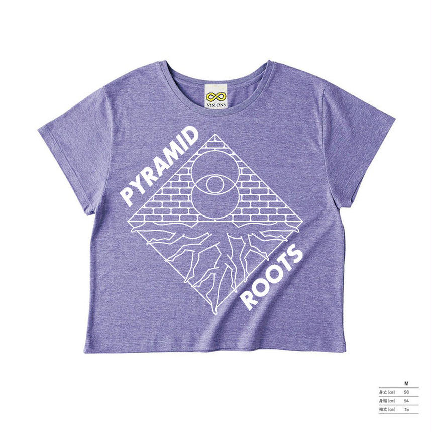 PYRAMID ROOTS / LADIES' PURPLE