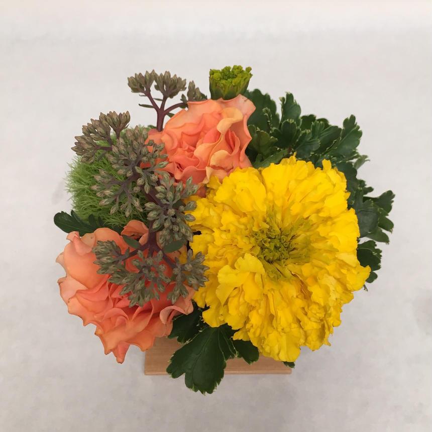 《花と漆器と色》実り(秋)