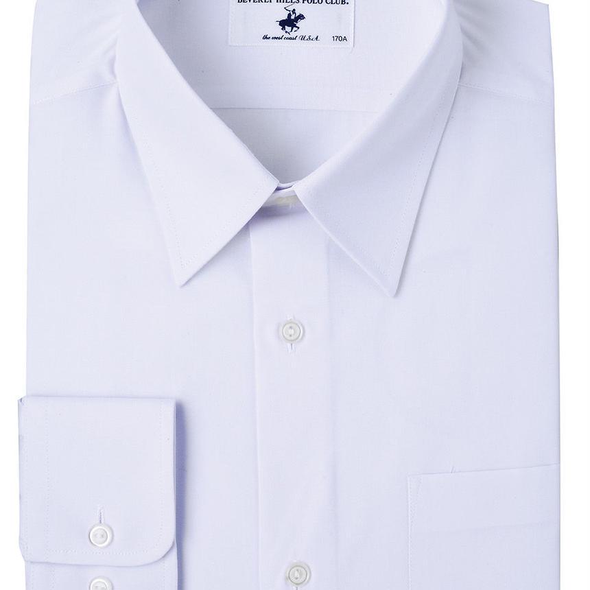 ☆ポロクラブ形態安定長袖カッターシャツ145-190