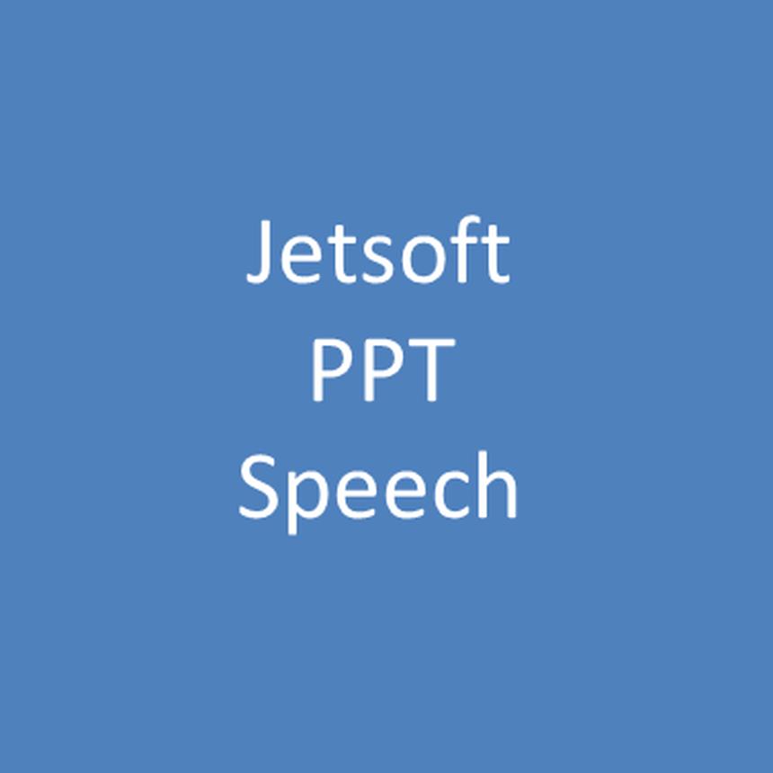 Jetsoft PPT Speech