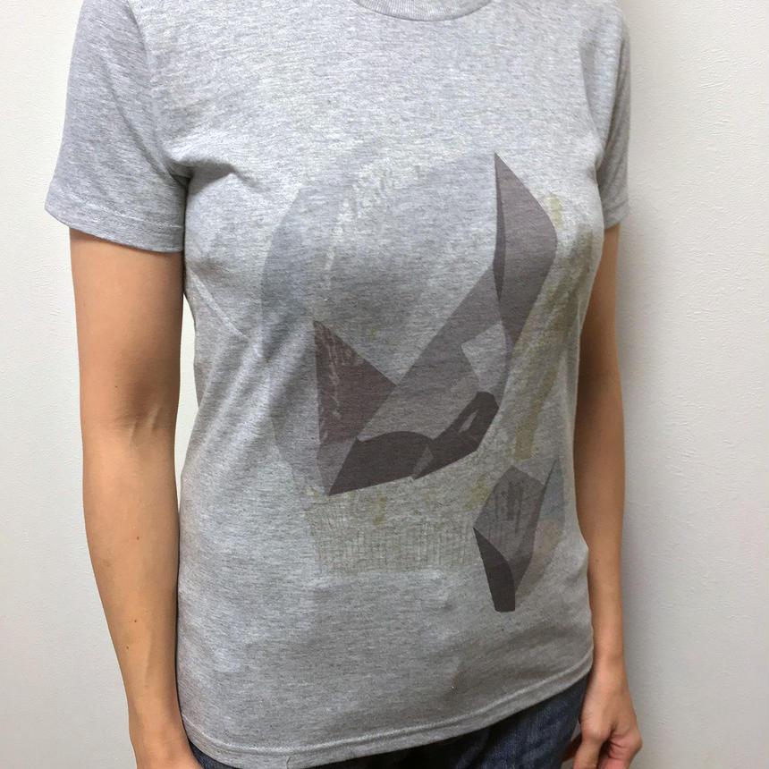 """GRAND AGE"" T-shirt GRAY"