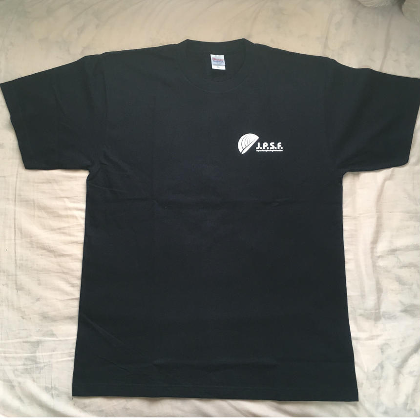 J.P.S.F. ロゴTシャツ(紺)