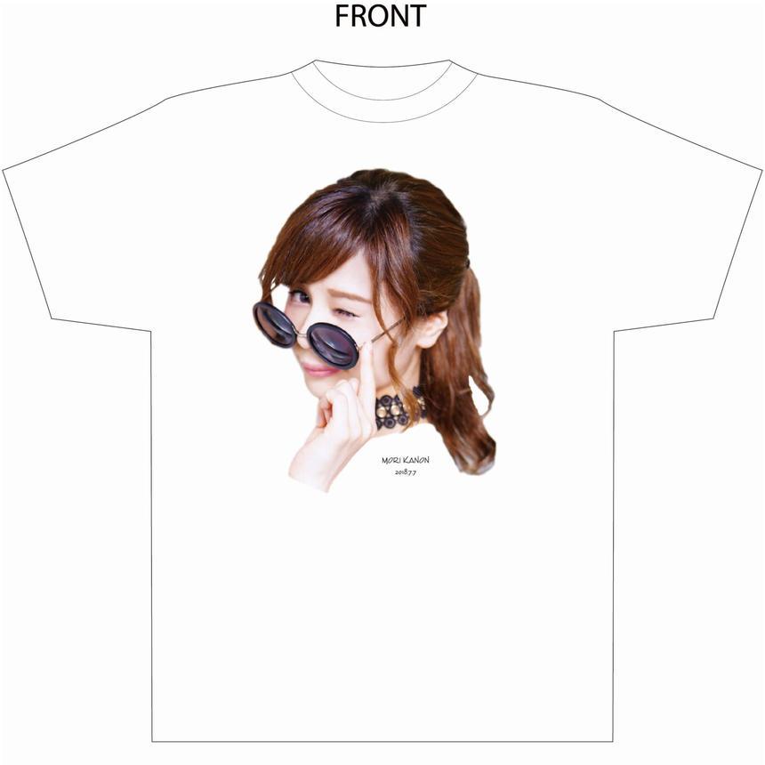 『森カノン』卒業式Tシャツ(白)(大阪会場受取限定)