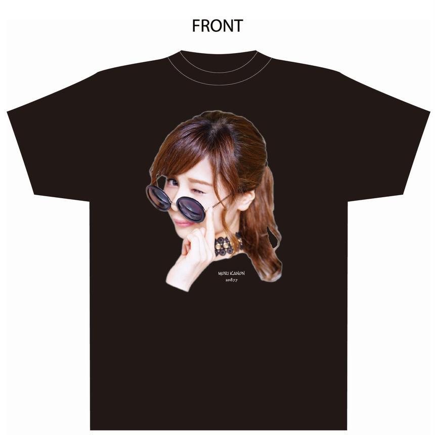『森カノン』卒業式Tシャツ(黒)(秋葉原会場受取限定)