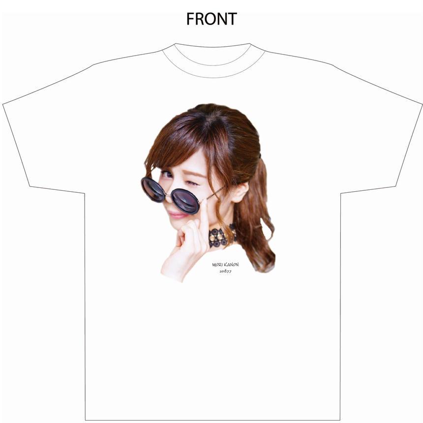 『森カノン』卒業式Tシャツ(白)(配送限定・配送料込)