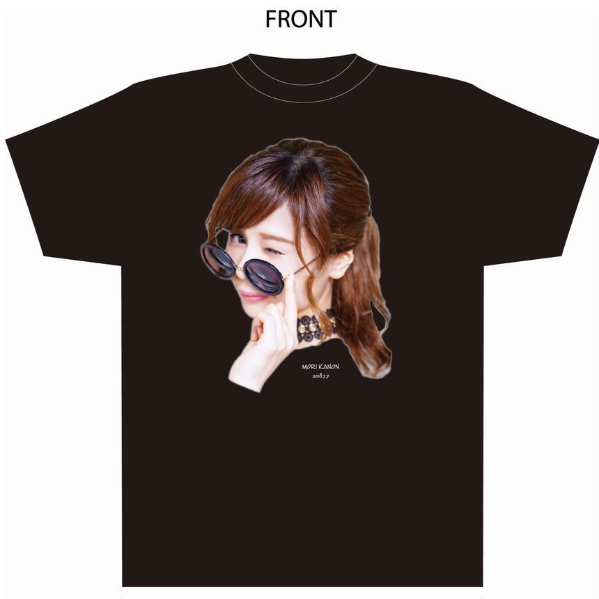 『森カノン』卒業式Tシャツ(黒)(大阪会場受取限定)
