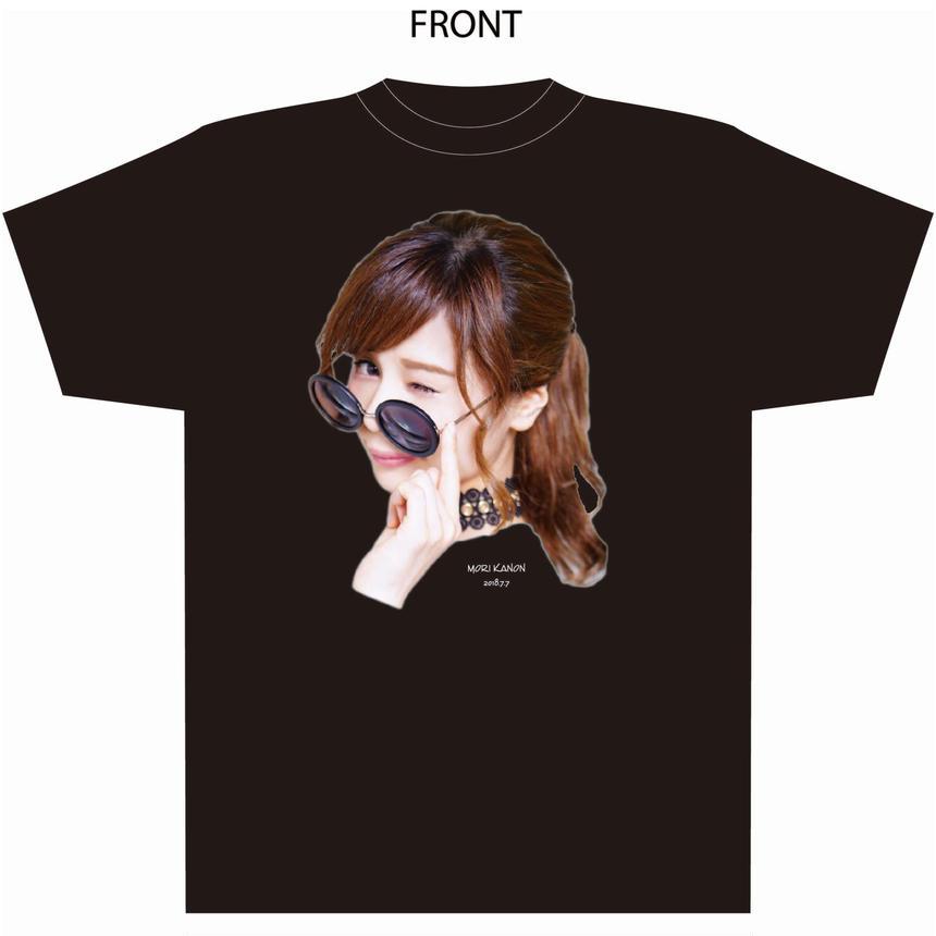 『森カノン』卒業式Tシャツ(黒)(配送限定・配送料込)