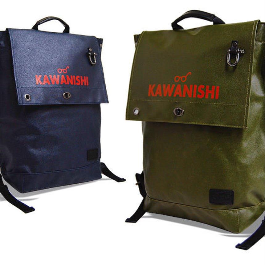 森野帆布 KAWANISHI Tribute MODEL 限定アイテム リュックサック 日本製 MADE IN JAPAN 帆布 キャンバス 防水