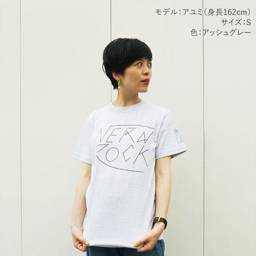 NERD ROCK Tシャツ (アッシュグレー)