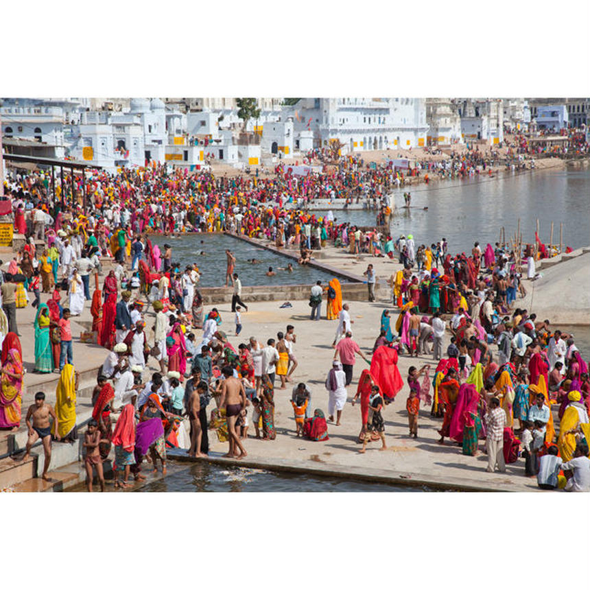 Pushkar Lake, INDIA (480×320 / 約A3ノビ)