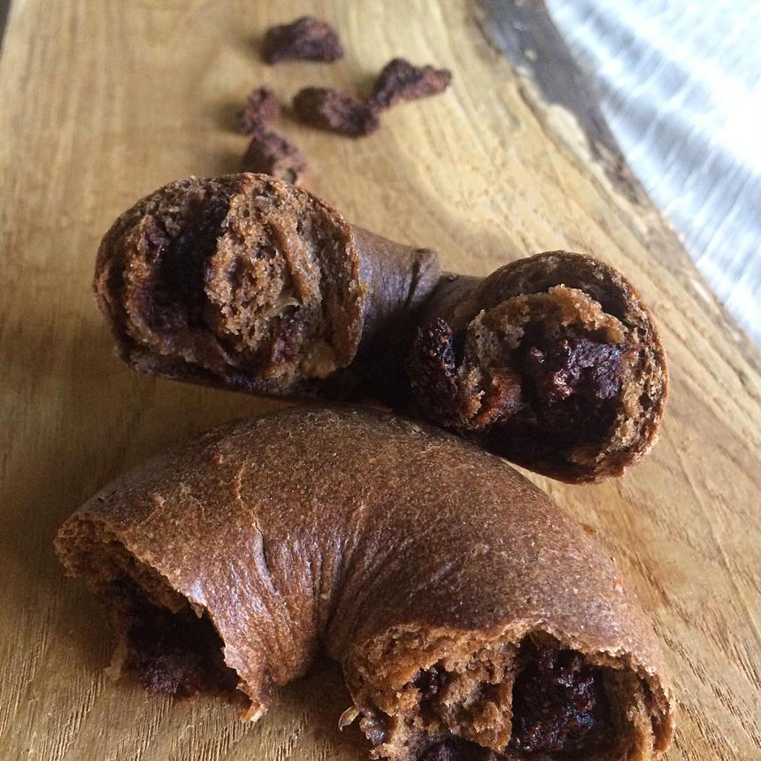 いちごチョコのベーグル(単品販売のみになります。)