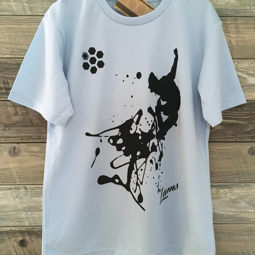 SPLASH Tシャツ(ライトブルー)