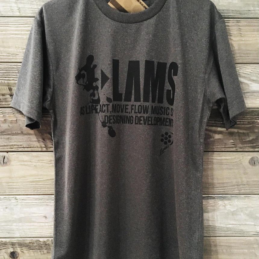 LOGO17 Tシャツ(杢ミックスグレー)