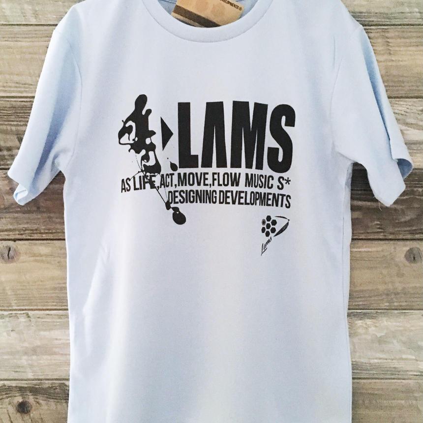 LOGO17 Tシャツ(ライトブルー)