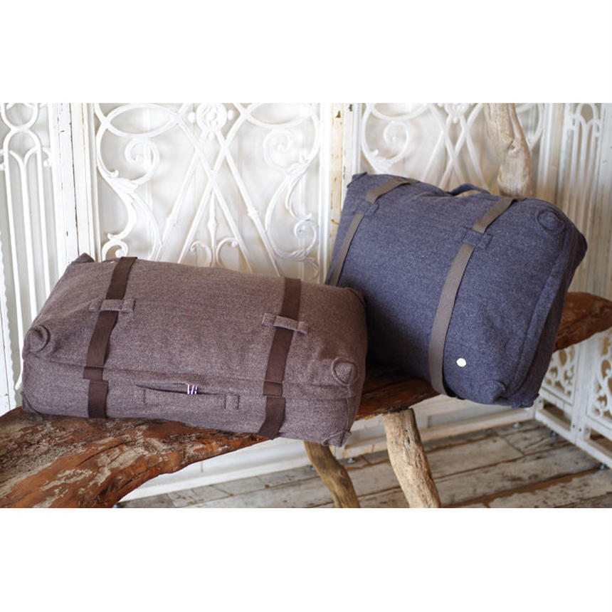 TRUNK FLOOR CUSHION-TASMANIA WOOL HERRINGBONE