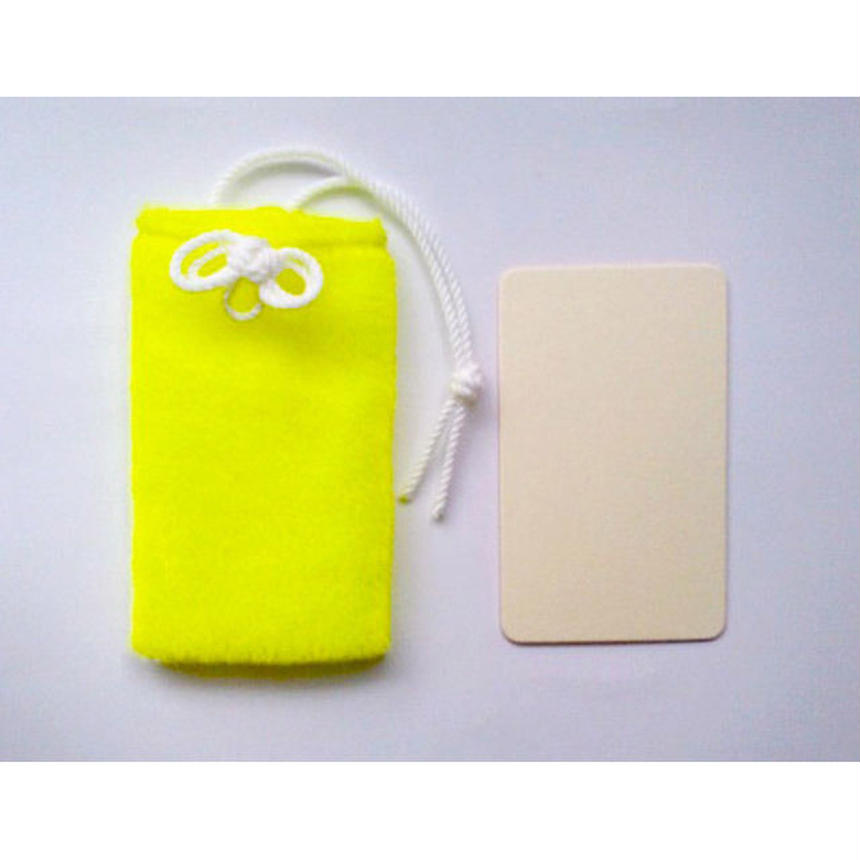 MESSAGE CARD+CASE (NEON VELVET)