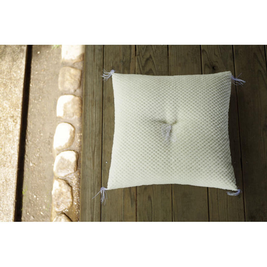 JAPANESE FLOOR CUSHION (M)-ORGANIC COTTON PILE