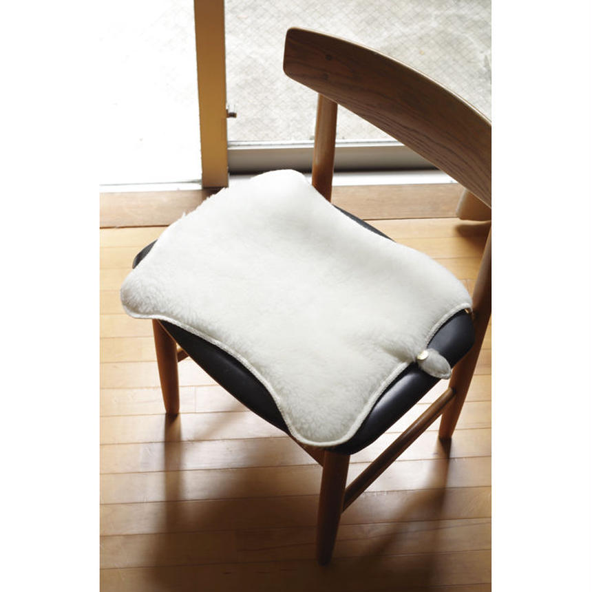 CHAIR MAT-WASHABLE MERINO WOOL FUR