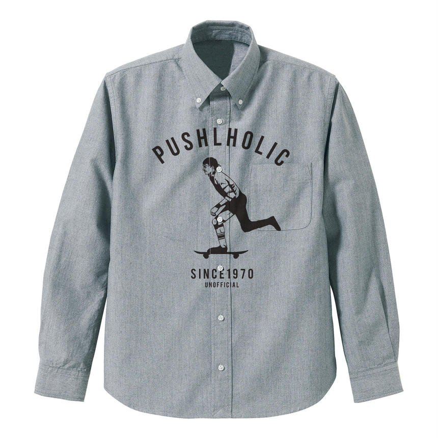PUSH HOLIC Oxford shirts / UNOFFICIAL