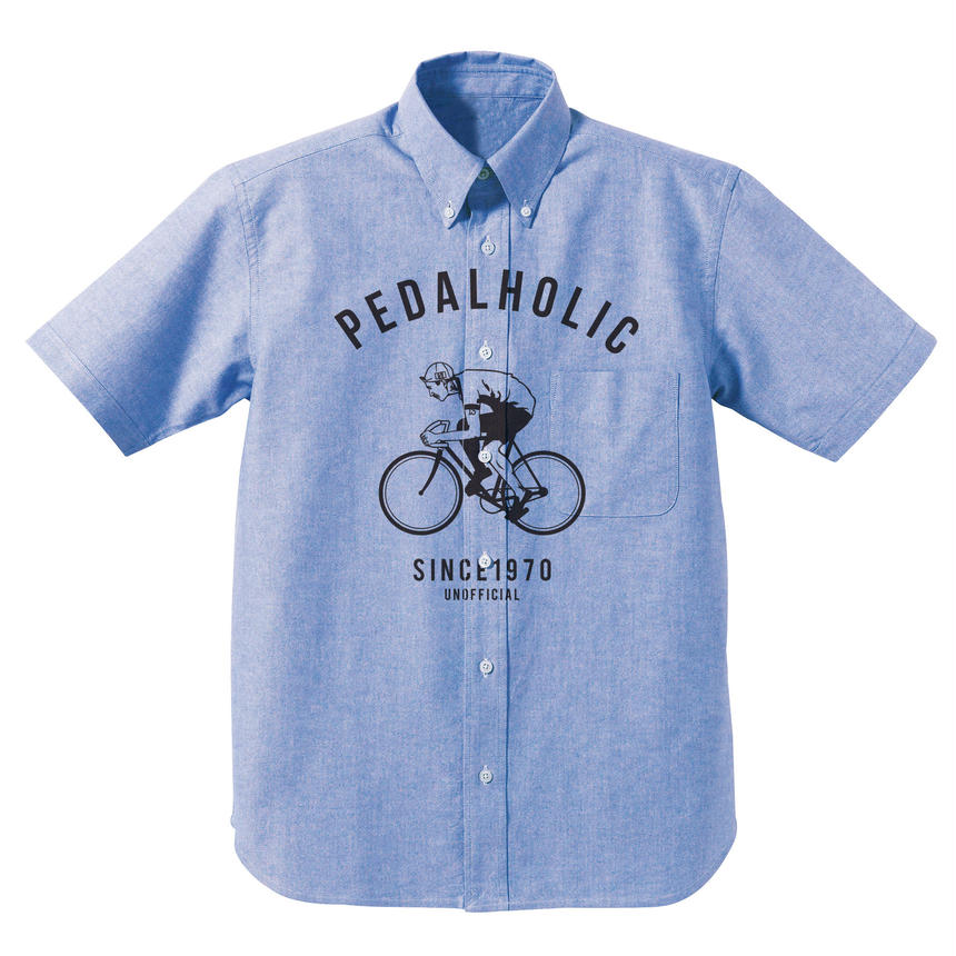 PEDAL HOLIC Oxford SS shirts / UNOFFICIAL