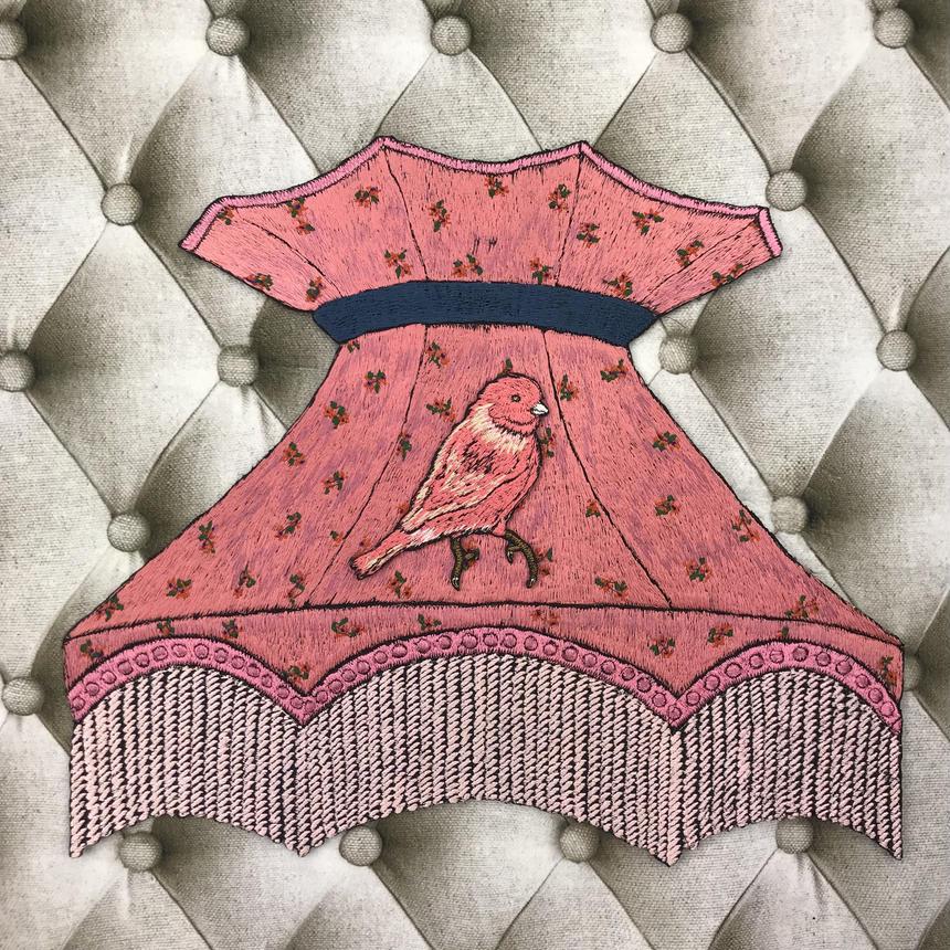 ランプシェード ピンク