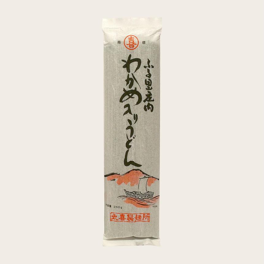 わかめ入りうどん(乾麺)