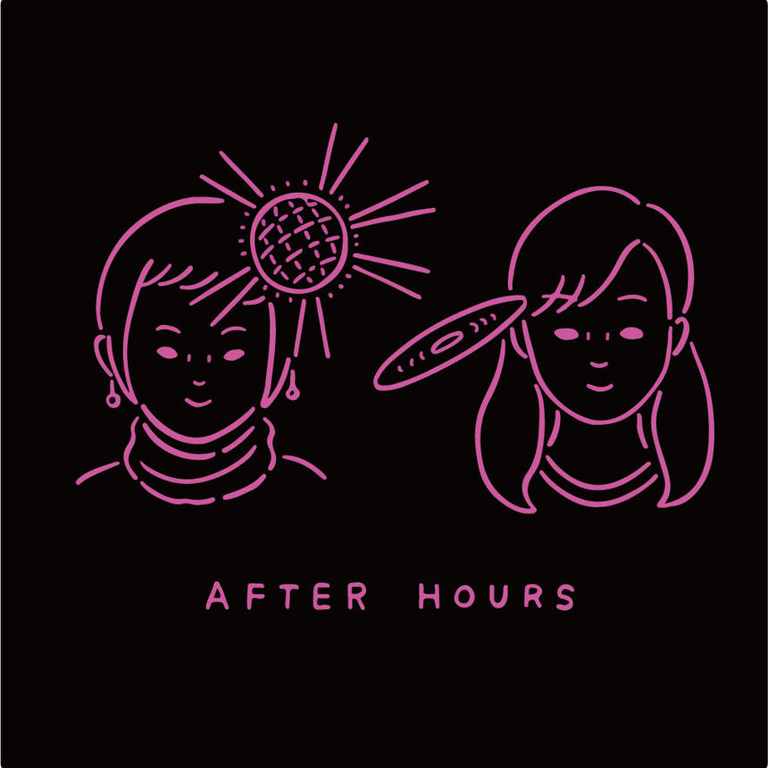 AFTER HOURS Tシャツ (MOGRA LIMITED)