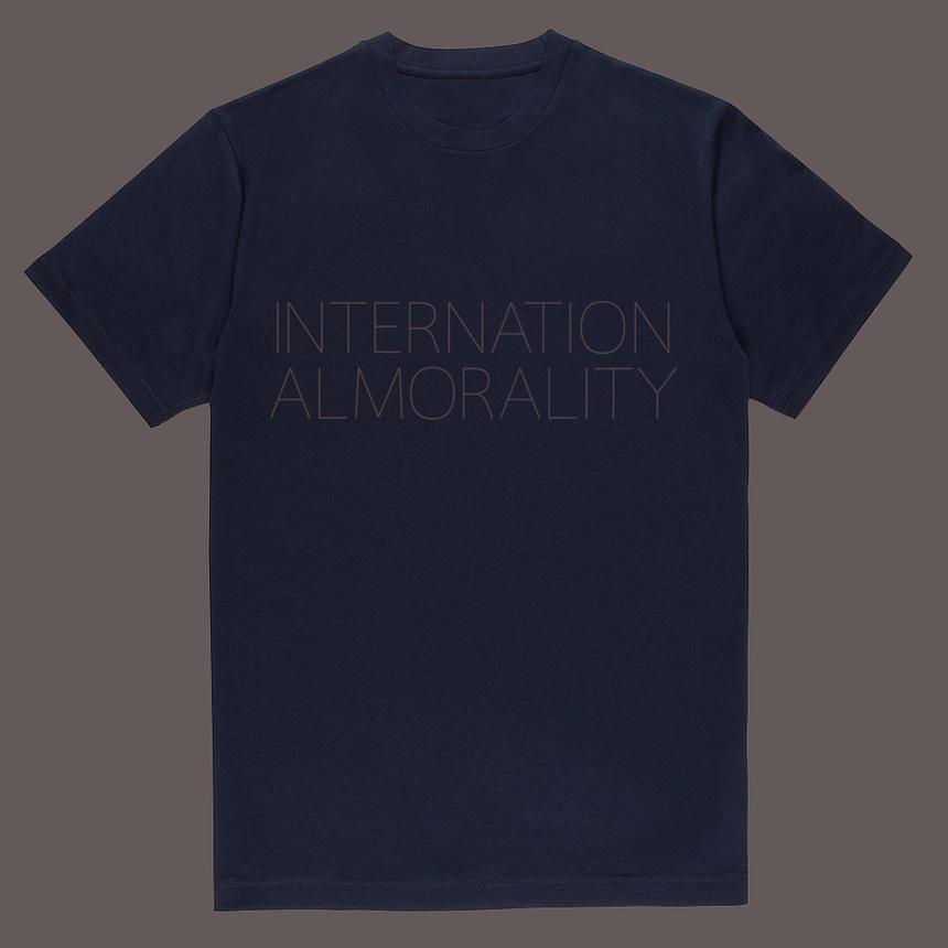 BM_W navy  Cotton T-shirt