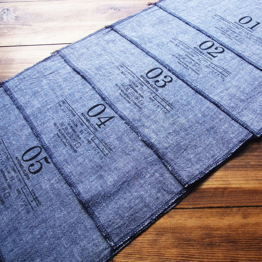 Kitchen cloth / メンズ・キッチンクロス Made in JAPAN 送料無料