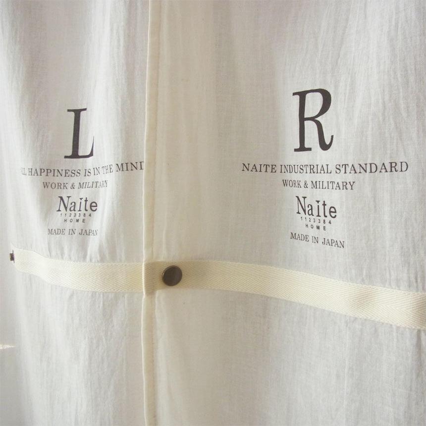 Gauze curtain long / メンズ・カーテン ※受注生産商品 Made in JAPAN 送料無料