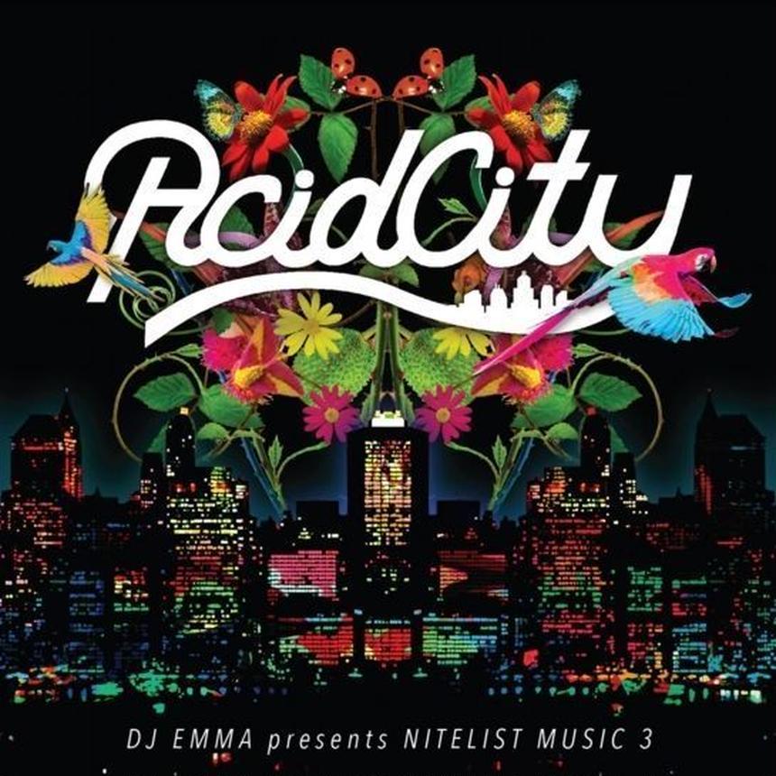 """ACID CITY"" Album CD"
