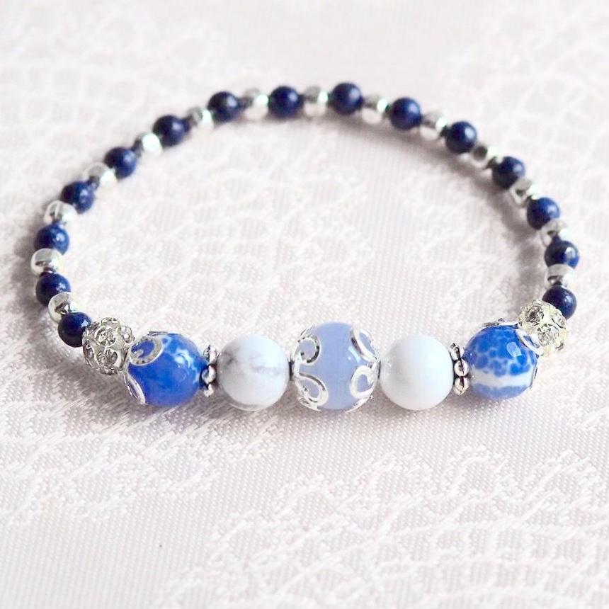パワーストーン青のブレス