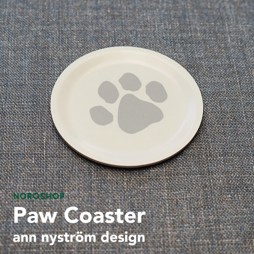 【ann nyström design】肉球コースター