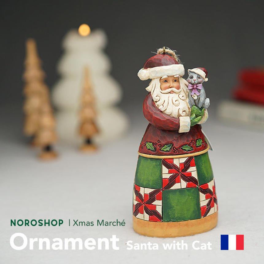 【Xmas Marché】サンタオーナメント(12/17以降の発送となります)