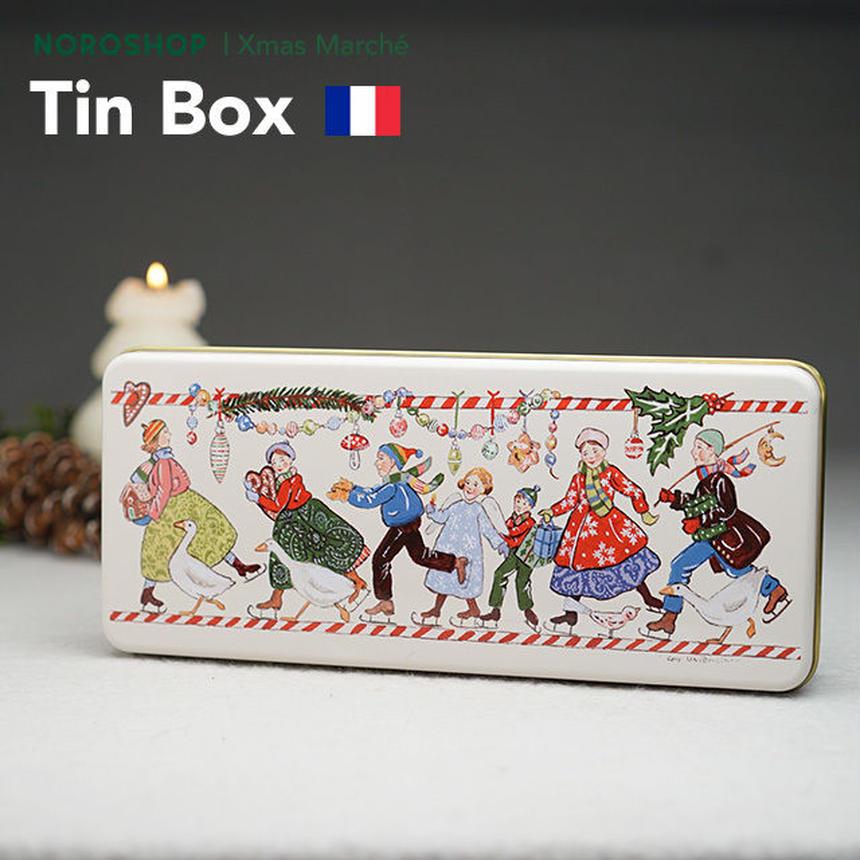 【Xmas Marché】クリスマス柄の缶(12/17以降の発送となります)